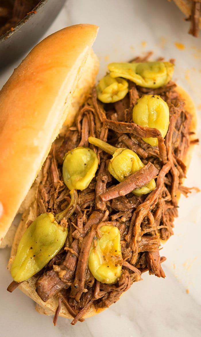 Italian Roast Beef Sandwich