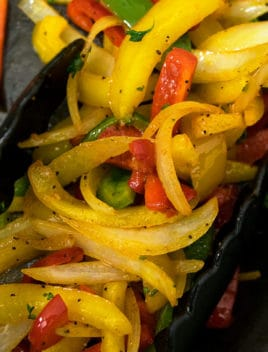 Easy Vegetable Fajitas Recipe (One Pan)