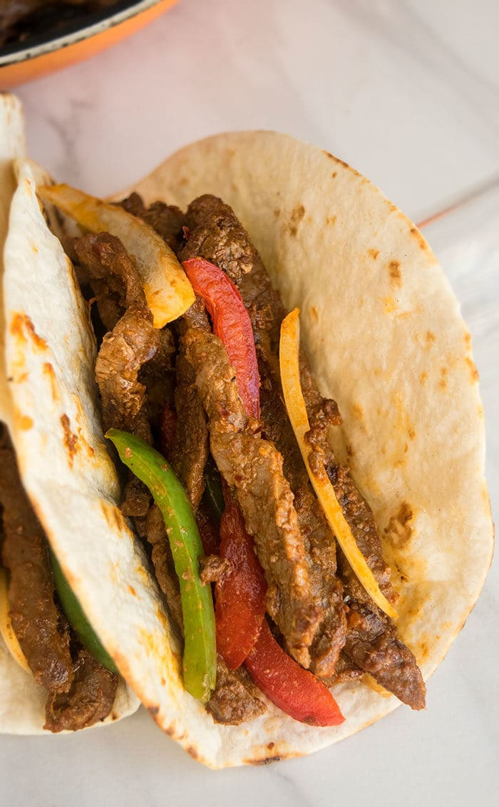 Best Steak Fajitas (30 Minute Meal)