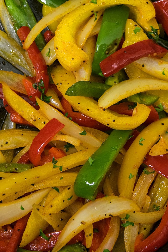 How to Make Fajita Vegetables