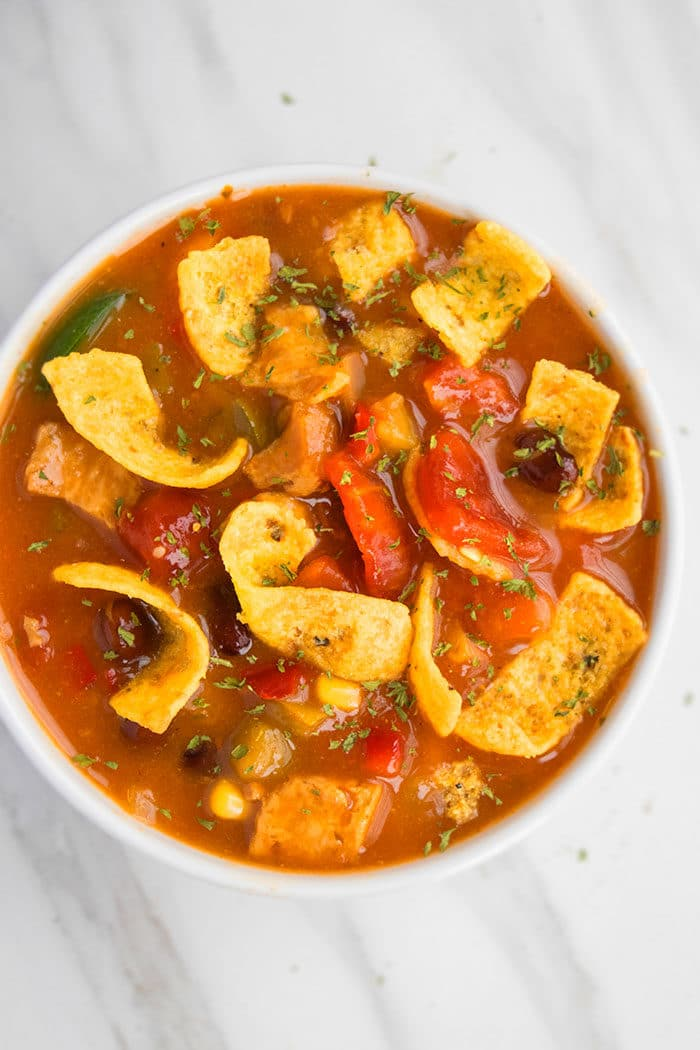 Best Mexican Chicken Enchilada Soup Recipe