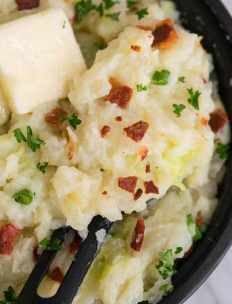 Irish Colcannon Recipe (Cabbage and Potatoes)