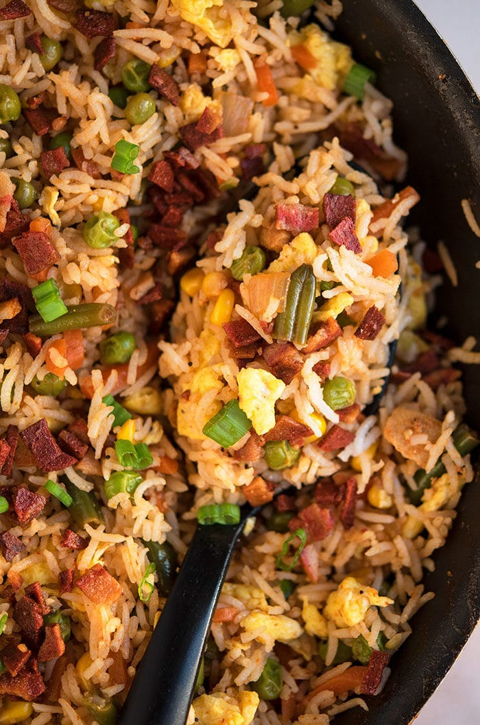 Homemade Bacon Fried Rice Recipe