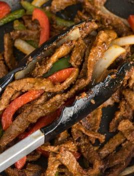 Easy Steak Fajitas Recipe