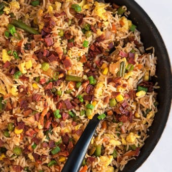 Easy Bacon Fried Recipe (One Pot Meal)