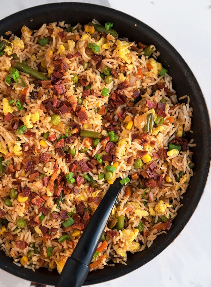 Bacon Fried Rice One Pot One Pot Recipes