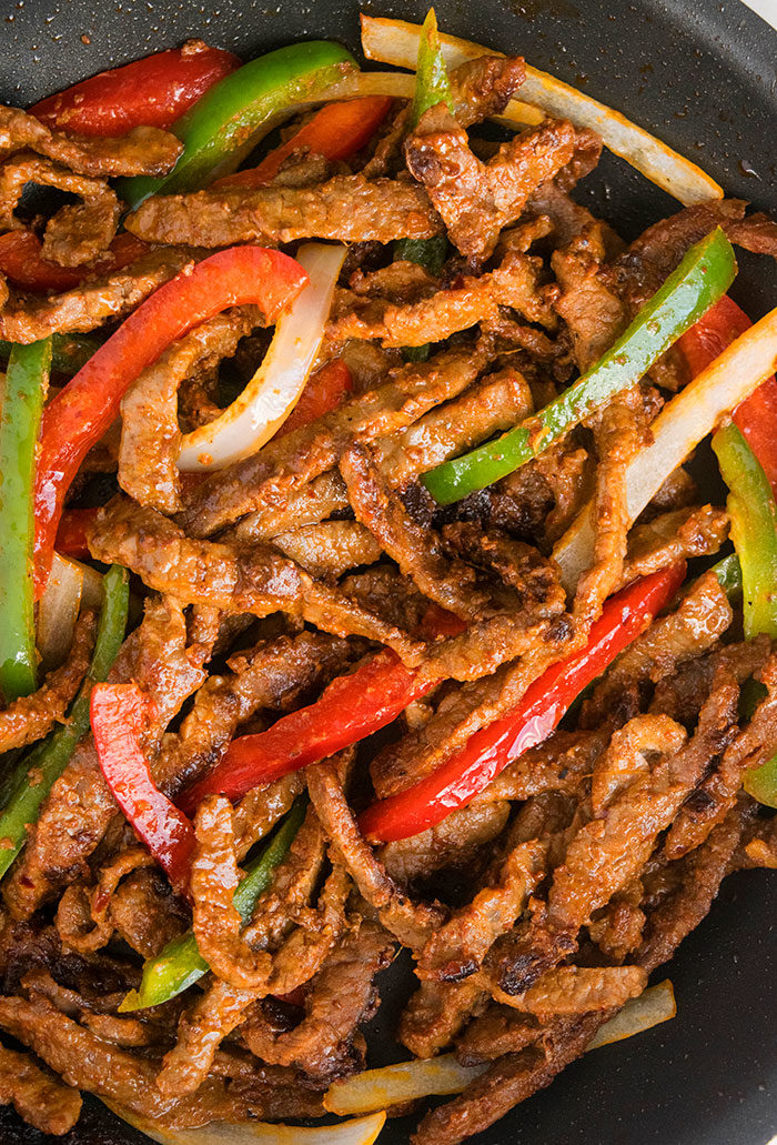 Easy Steak Fajita Recipe (One Pot Meal)