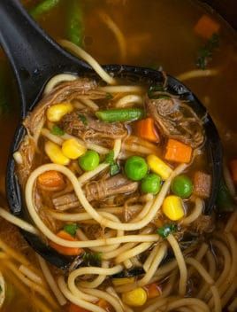 Easy Beef Noodle Soup Recipe