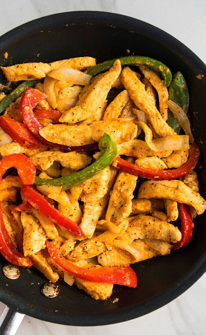 Best Easy Mexican Chicken Fajitas Recipe