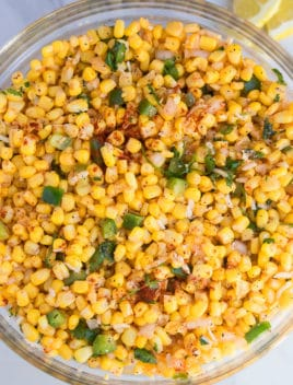 Easy Mexican Corn Salad Recipe