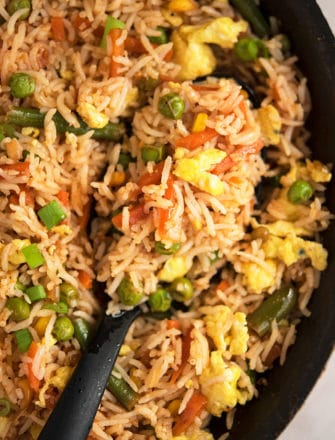Easy Chinese Vegetable Fried Rice Recipe
