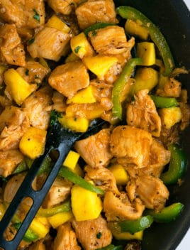 Easy Mango Chicken Recipe