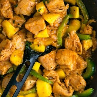 Easy Mango Chicken Recipe