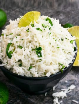 Cilantro Lime Rice Recipe (One Pot Meal)