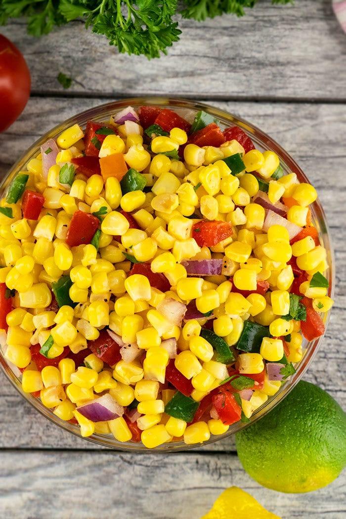 Mexican Chipotle Corn Salsa Recipe