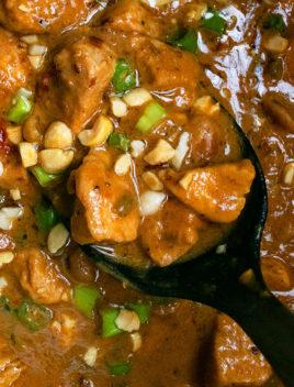 Instant Pot Peanut Butter Chicken Recipe (Peanut Chicken)