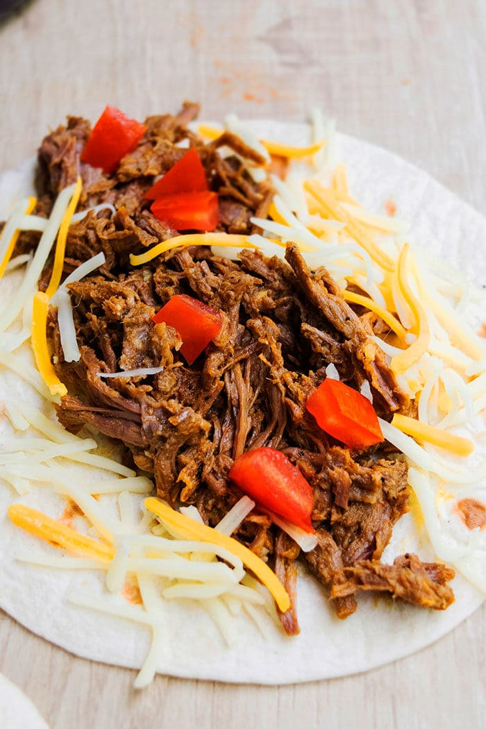 Shredded Barbacoa Beef Filling