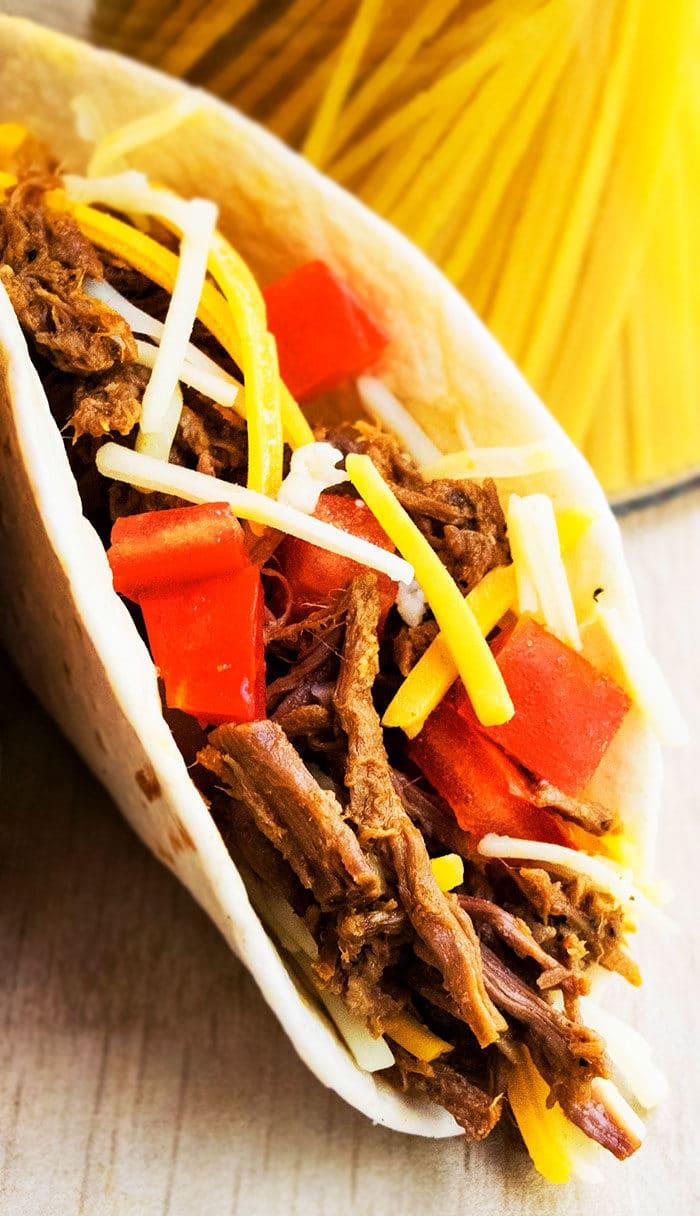Easy Barbacoa Tacos