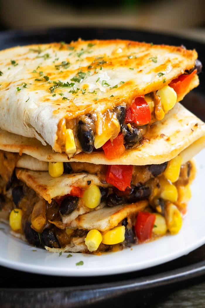 Vegetarian Quesadilla One Pan One Pot Recipes