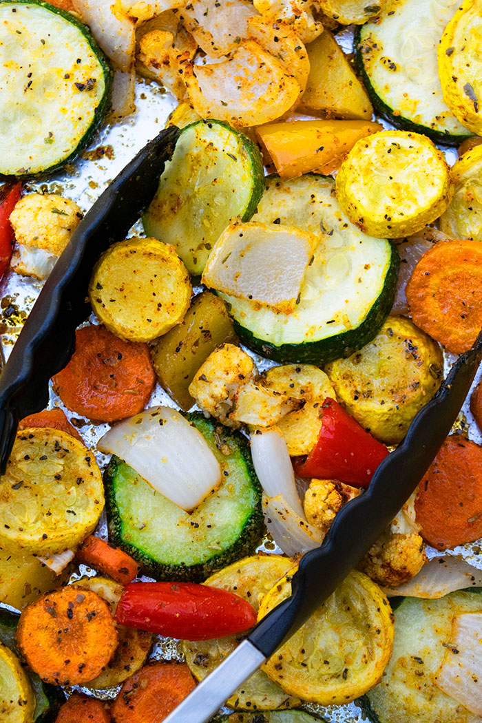 Oven Roasted Vegetables One Pan One Pot Recipes