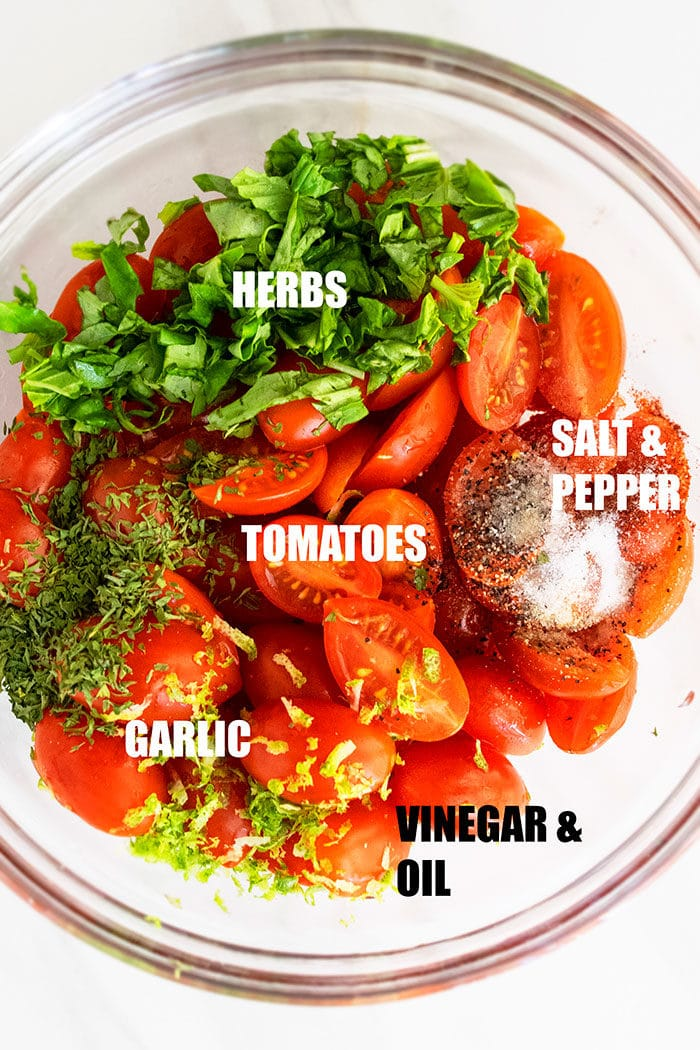 How to Make Marinated Tomatoes