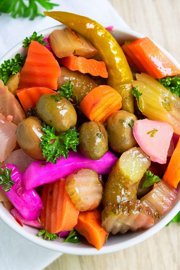 Best Vegetable Pickles