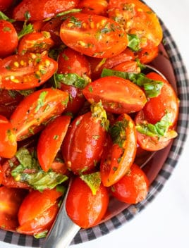 Easy Marinated Tomatoes Recipe