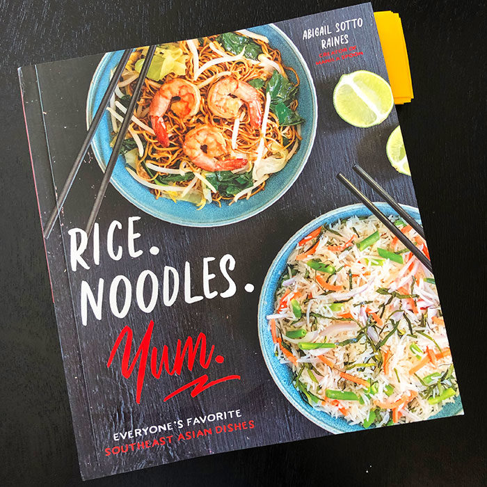 Rice Noodles Yum Book