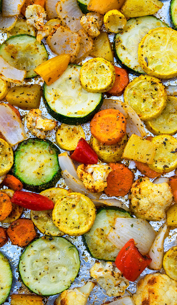 Sheet Pan Roasted Vegetable Medley