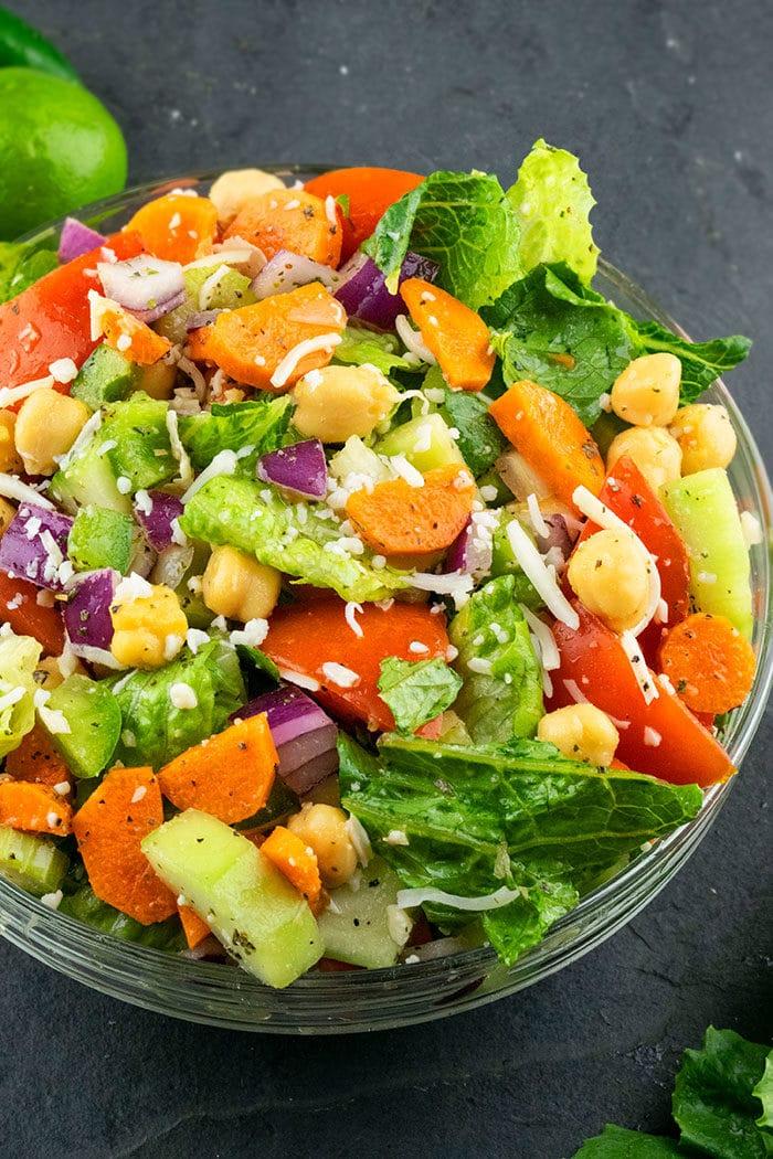 Homemade Chopped Salad