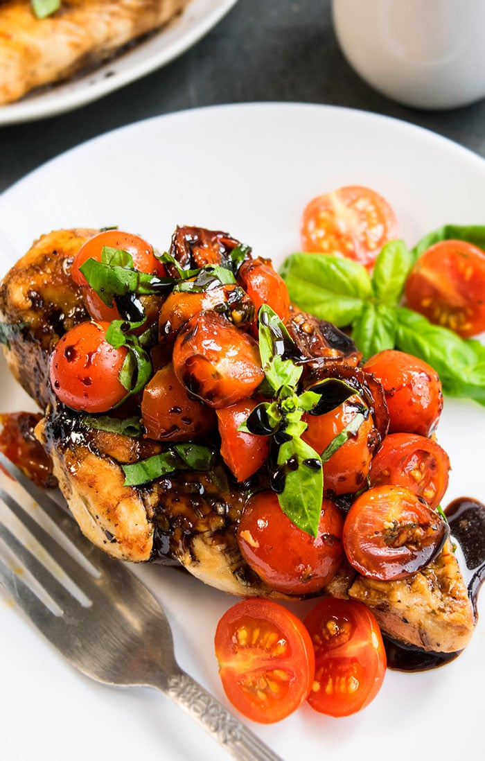 Bruschetta Chicken (One Pot)