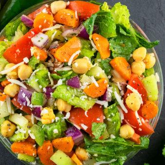 Best Italian Chopped Salad Recipe