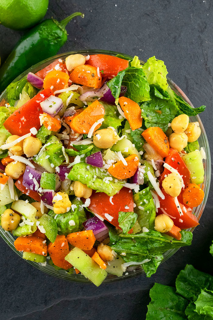Best Italian Chopped Salad Recipe