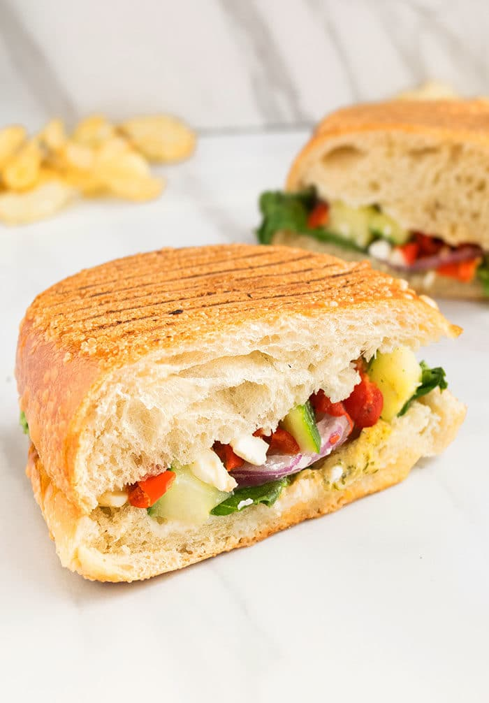 Easy Veggie Sandwich