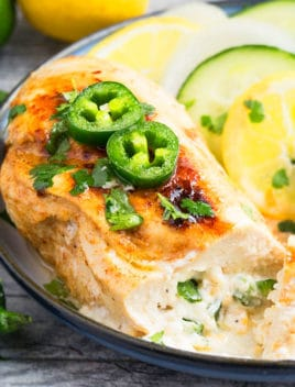 Jalapeno Popper Chicken Breast Recipe
