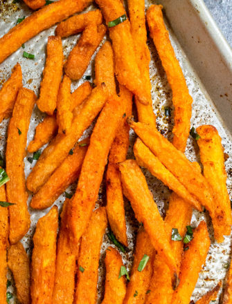 Oven Baked Sweet Potato Fries Recipe
