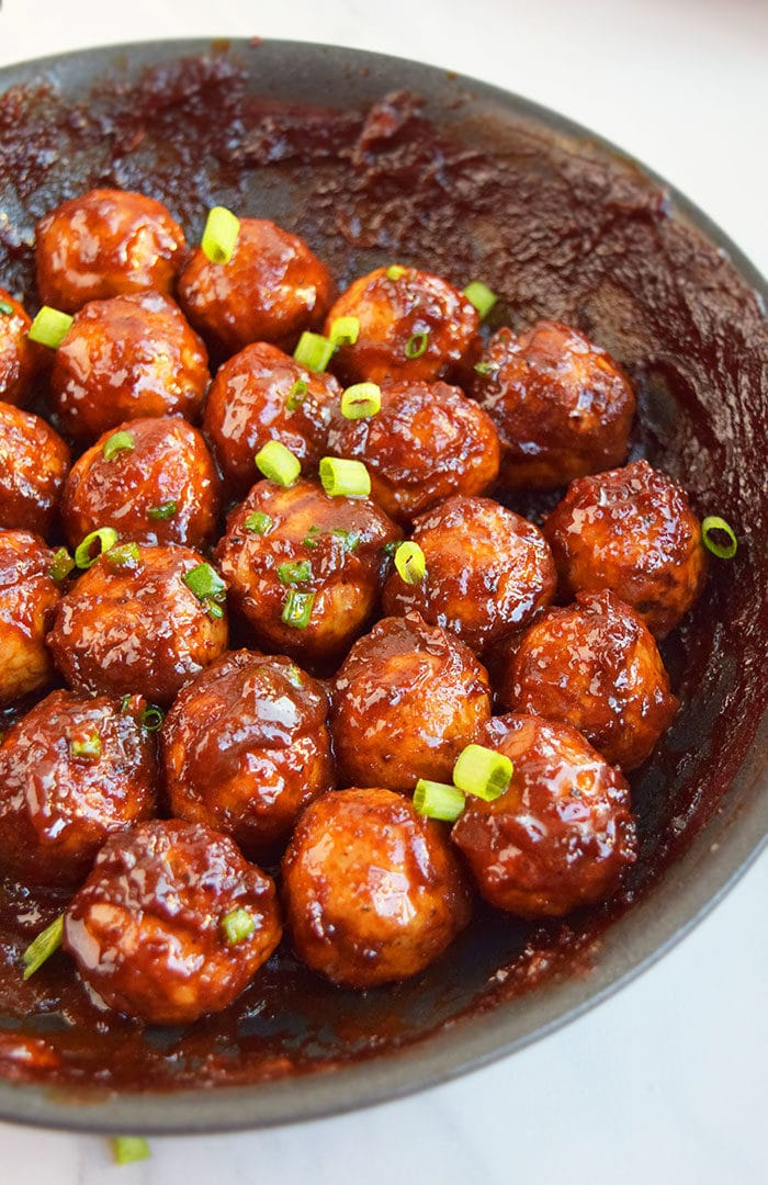 One Pot Party Meatballs Recipe