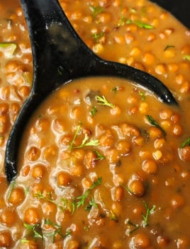 Easy Lentil Soup Recipe