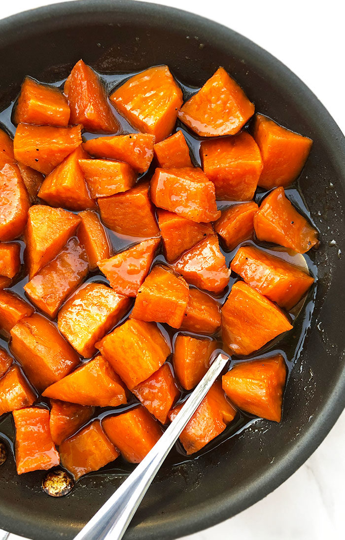 Southern Old Fashioned Candied Sweet Potatoes