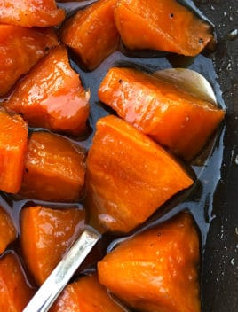 Easy Candied Sweet Potatoes Recipe