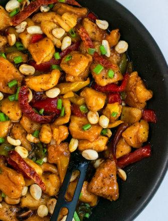 Easy Szechuan Chicken Recipe