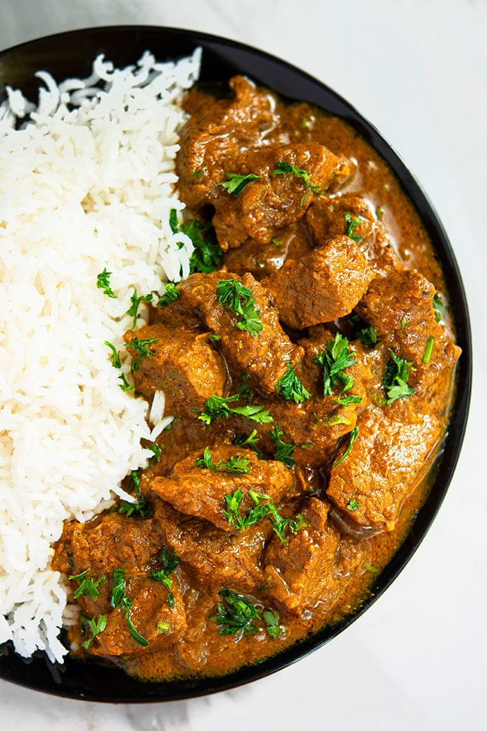 Homemade Beef Curry Recipe