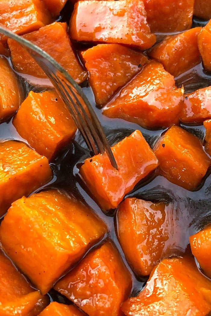 Glazed Sweet Potatoes Recipe