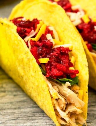 Leftover Thanksgiving Turkey Tacos Recipe
