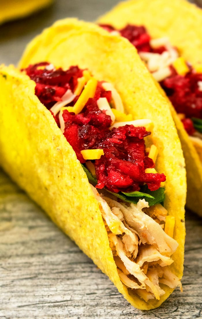 Shredded Turkey Tacos With Thanksgiving Leftovers One