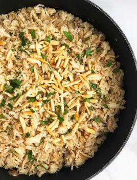 Easy Rice Pilaf Recipe (One Pot)
