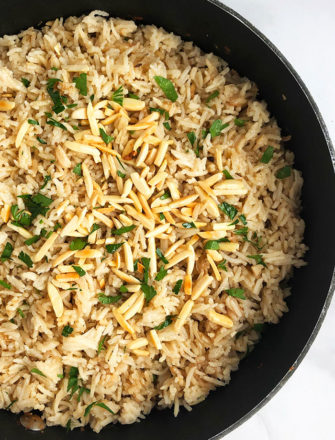 Easy Rice Pilaf Recipe (One Pot)