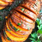 Easy Hasselback Sweet Potatoes Recipe