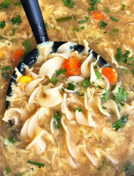 Homemade Turkey Noodle Soup Recipe