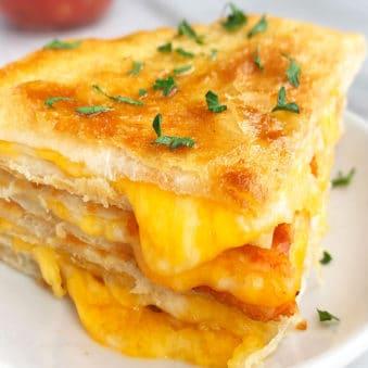 Easy Homemade Cheese Quesadilla Recipe